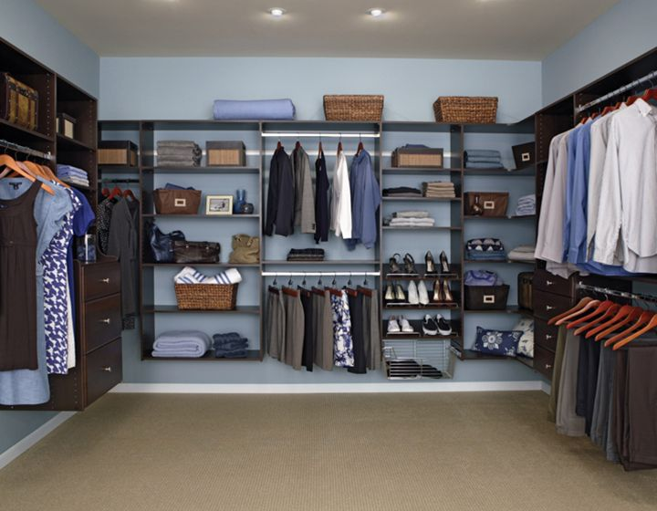 Do It Yourself Home Design: 28 Best Closet Organizers: Reach-in And Walk-in Spaces