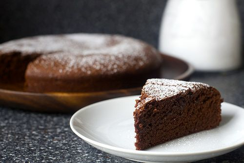 French Chocolate Cake - perhaps the only chocolate cake recipe you'll ever make again. Our version.