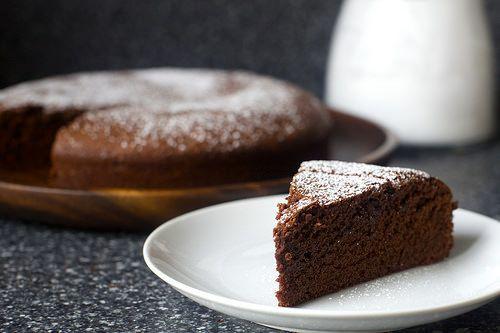 valerie's french chocolate cake   smitten kitchen