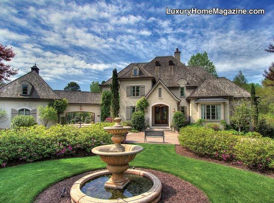 French inspired home in Charlotte, NC