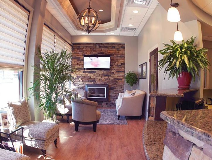 Like Everything Except The Flooring And Fireplace. Dental Office ...