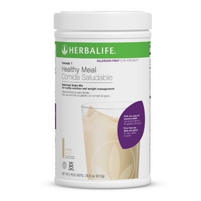 Gluten Free Dairy Free Nutritional Shake Mix for weight loss or meal replacement. Formula 1-Allergen Free Formula