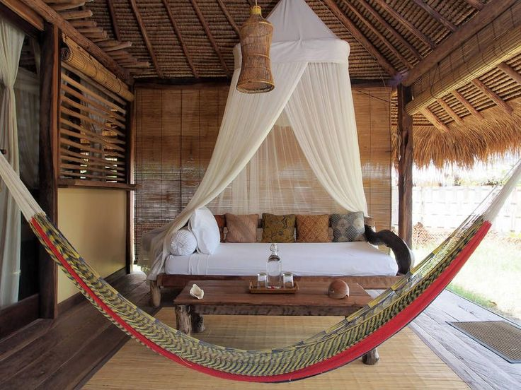 The extra bed in the bungalow offers prime views of the sea ☀ BOOK NOW https://www.airbnb.com/rooms/8763329?location=gili%20asahan&s=1Cw0jMxR #bungalow #extrabed #hammock #airbnb #giliasahan #ecolodge #giliasahanecolodge #gili #giliislands #accommodation #hotel #lombok #travel #ecoconscious #ecoliving #livingsmall #lodgelife #wanderlust #globe_travel #wonderful_places #seetheworld #passportready #island #islandlife #batik #doyoutravel #instatravel #getaway #outdoorliving