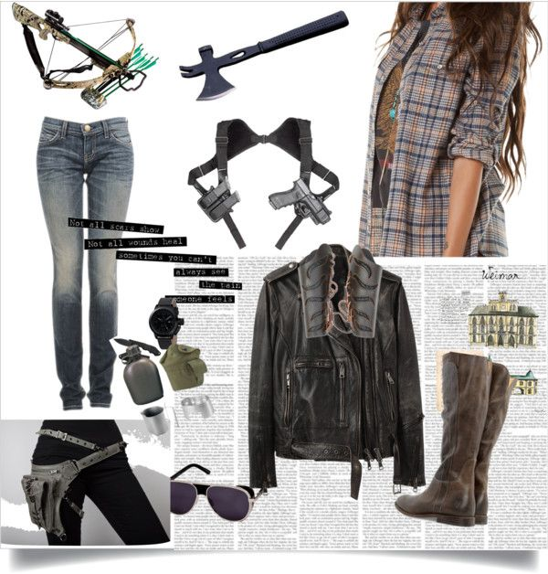 """Zombie Apocalypse"" by fearthewolfman on Polyvore"