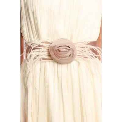Zetterberg - Feather Silk Belt Powder Pink - Kotyr.com