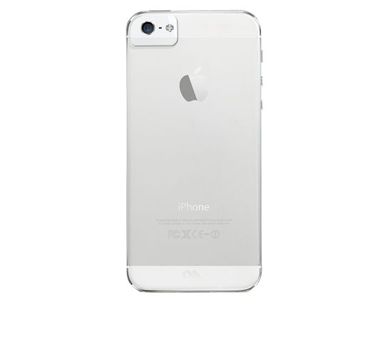 Case-Mate Barely There deksel til iPhone 5S