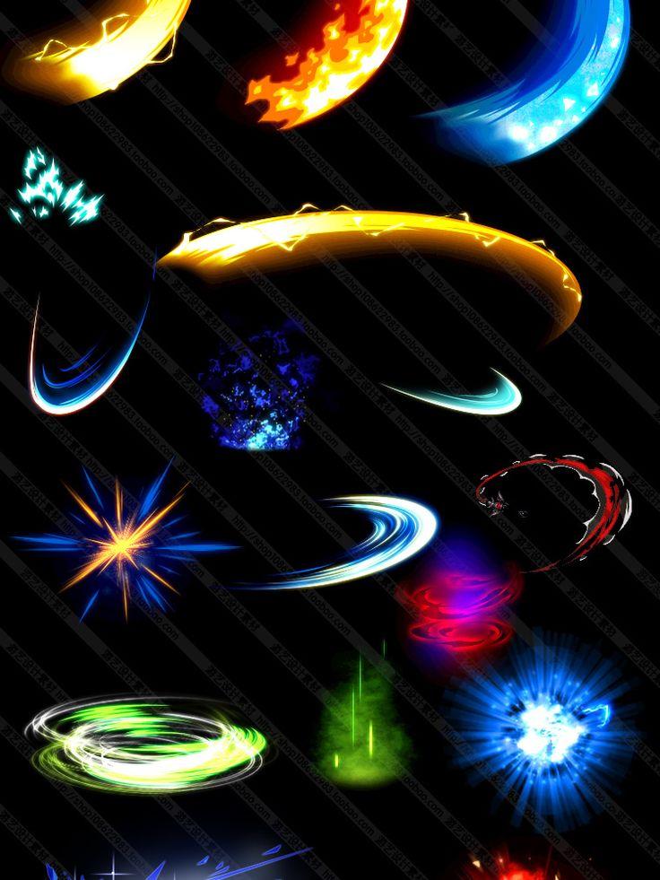 游戏美术资料素材/3300多套横版游戏技能特效/光效连帧序列图PNG-淘宝网