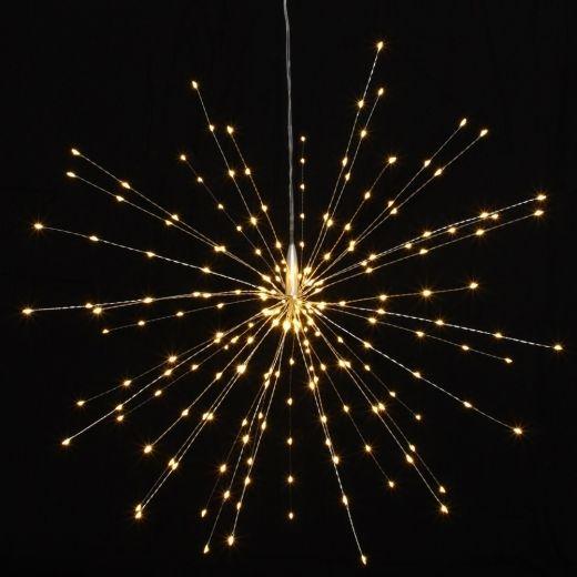 Christmas lights 57 pinterest hurn hurn discoveries starburst led light ornament silver large hanging mozeypictures Gallery