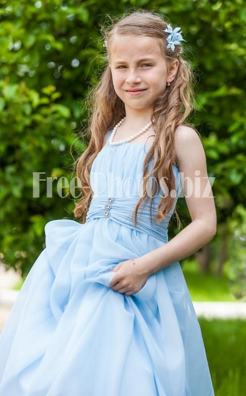 Photo Of A Young Cute Chechen Girl Photographed In May