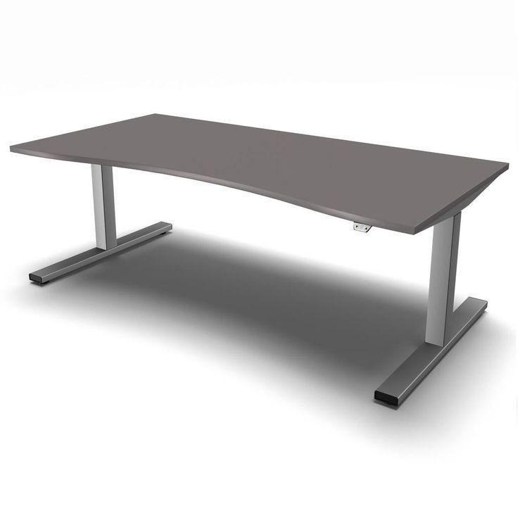 Steh-Sitz-Tisch eModel Compact-Form