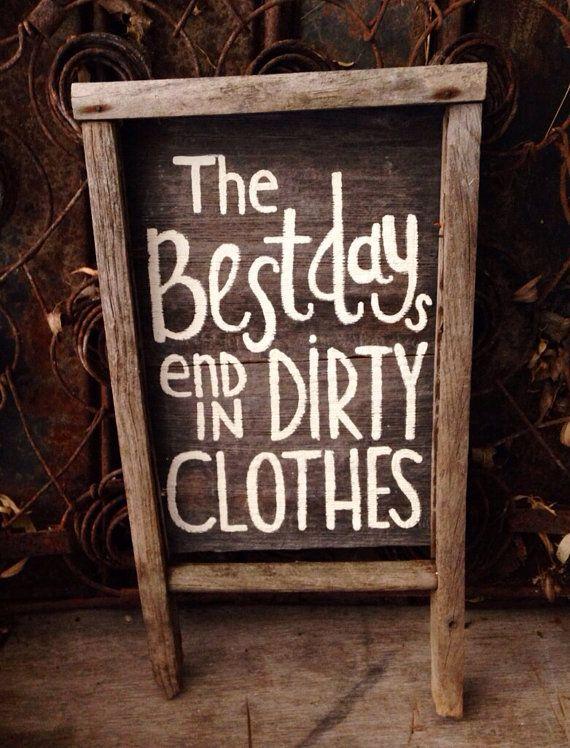 Old wash board sign. by NiftaeThriftae on Etsy
