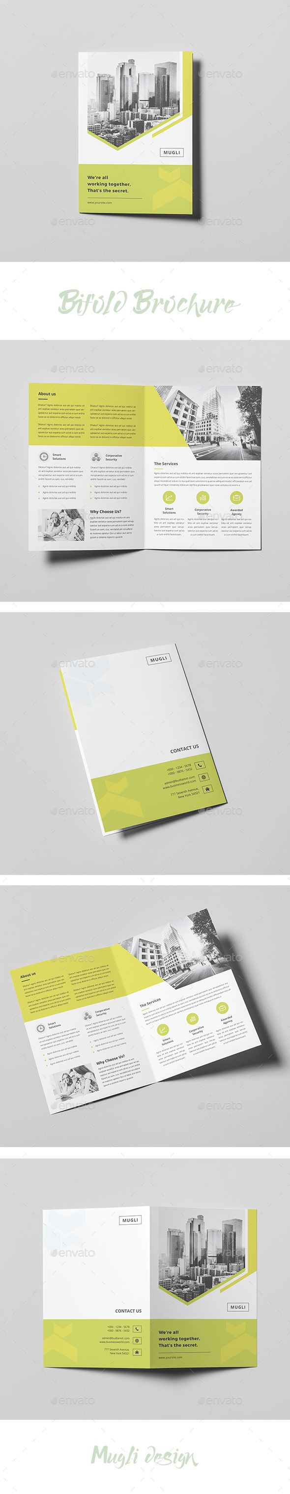 Bifold Brochure  Details      A4 210×297 mm (8.27×11.7 inches) + bleeds 0.125 inches     300 DPI     CMYK – print ready     Easy to modify, change colors  Fonts and images:      open-sans     Montserrat     The images are not included.  If you like this item please rate it! Thank you.