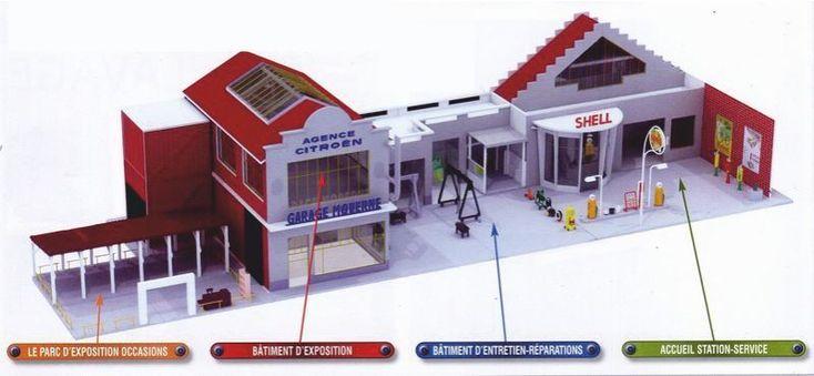 GARAGE MODERNE CITROEN SERVICE GARAGE MODERNE 1/43 (01) | Jouets et jeux, Véhicules miniatures, Voitures, camions et fourgons | eBay!