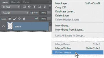 create pdf from jpg flatten