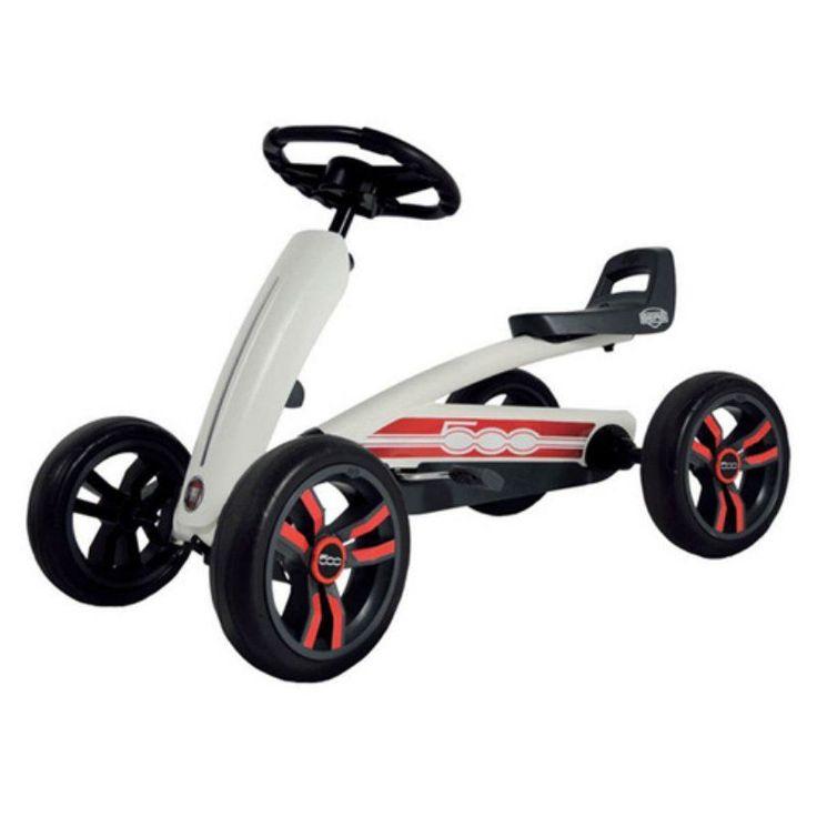 Berg USA Buzzy Fiat 500 Pedal Go Kart Riding Toy - 24.30.10.00