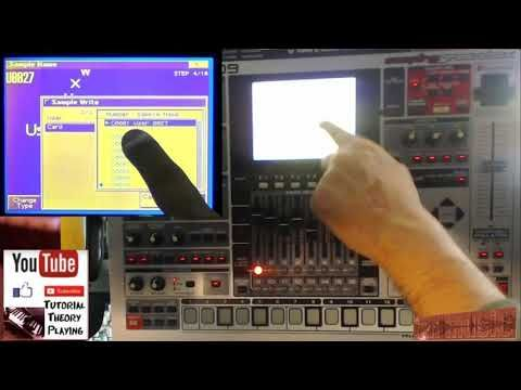 export wav file to yor computer from MC 909 | MC-909 Sampling