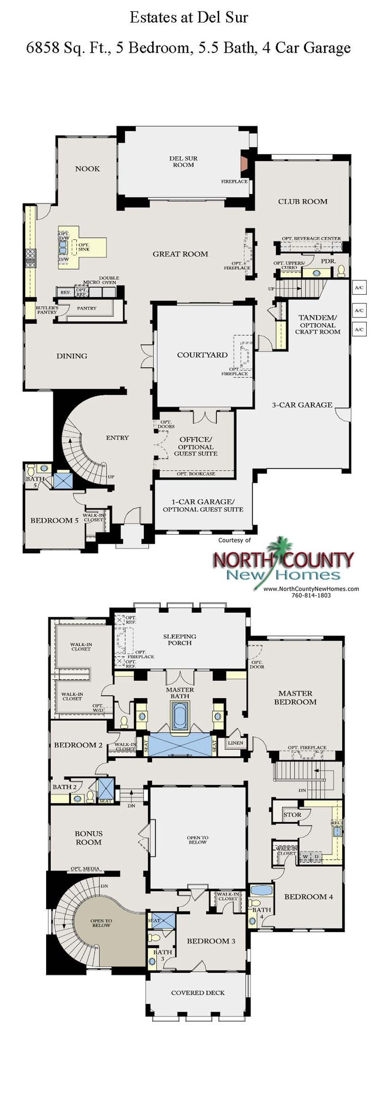 17 Best images about New Home Floor Plans in North County San