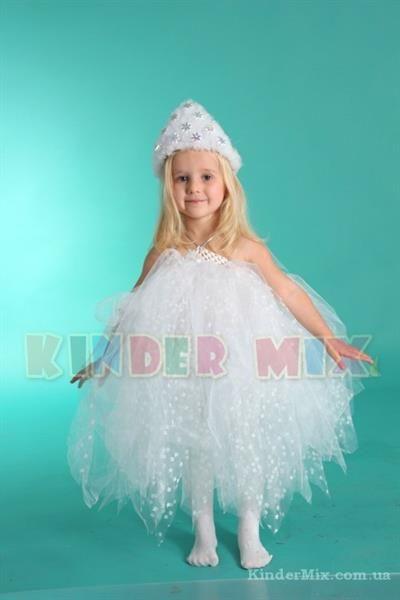 Новогодние детские костюмы снежинок