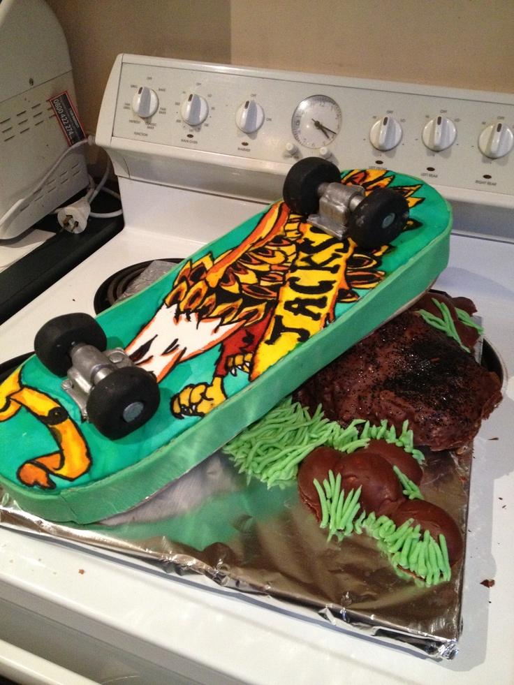 Skateboard Cakes Cake Ideas And Designs