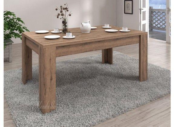 Eetkamertafel Invido is een tafel die geschikt is voor 4 tot 6 personen. Deze tafel is geschikt voor elke stijl eetkamer of woonkamer vanwege zijn strakke design. De lengte is 180 cm, hoogte 74cm en breedte 90 cm. Deze tafel is uit te schuiven tot 200 cm. Tevens is de tafel voorzien van drie jaar garantie.