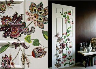 Galleria foto - Decorare una porta con il decoupage Foto 3