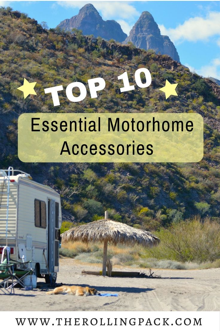 Our Top Ten List Of Essential Motorhome Accessories