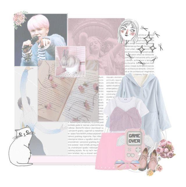 """""""Pastel Pink date"""" by parkeunseo on Polyvore featuring Miu Miu, Skinnydip, Retrò, Chicnova Fashion and Seletti"""