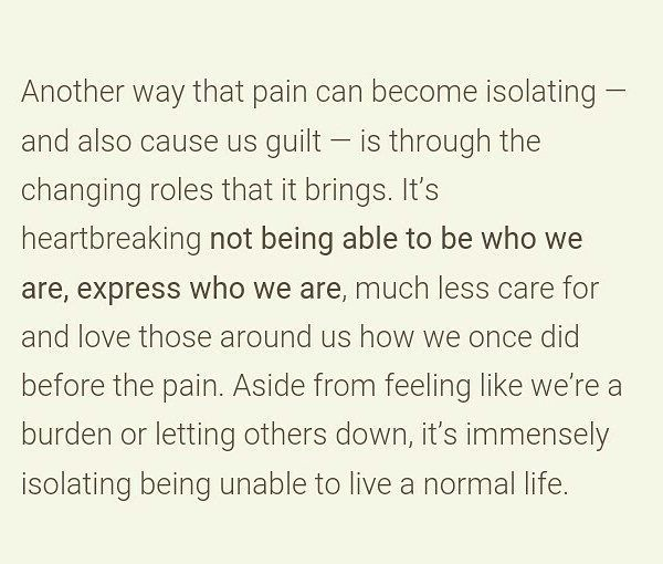 Feelings, and severe chronic intractable pain.