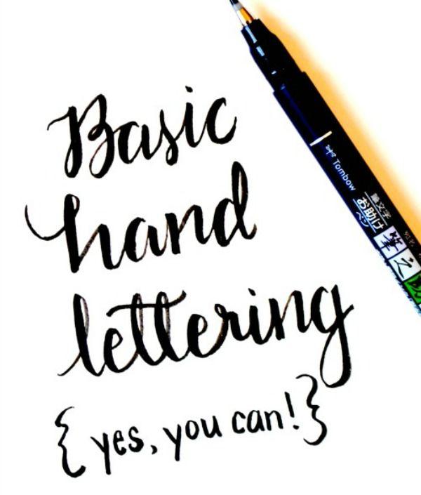 Believe it or not, you can learn to create beautiful hand lettered projects. All you need are a few basic supplies and this tutorial to make a masterpiece! One Artsy Mama featured on Kenarry.com