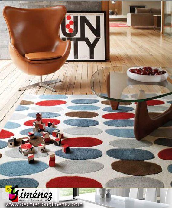 Gran variedad de alfombras de alta calidad y fantásticos diseños. http://www.decoraciongimenez.com/complementos/alfombras