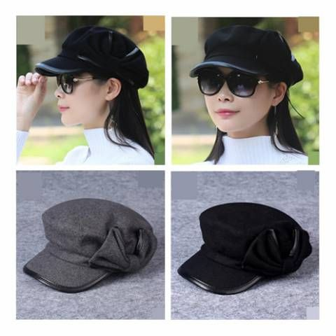 https://www.buyhathats.com/black-newsboy-cap-with-bow-women-wool-newspaper-hat.html