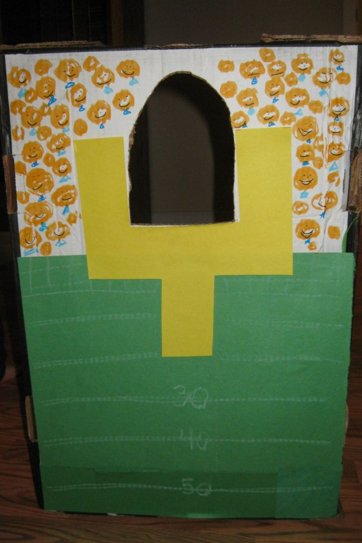 Save your Costco boxes, because your kids could also have as much fun as mine have this week! This is the second hand made bean bag toss I...