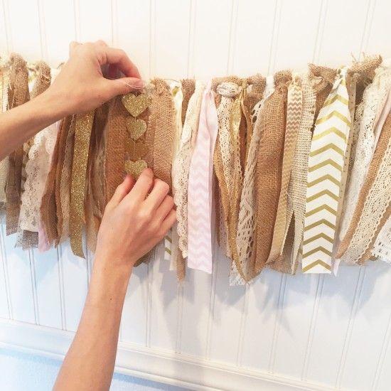 Holly's Rag Garland Tutorial | Model Behaviors