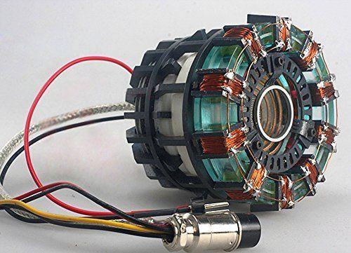 Amazon Com Gmasking Metal Iron Man Mk1 Led Arc Reactor