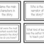 GUIDED READING TASK CARDS, GRADES 2-4 (INKSAVER B&W) 60 Task Cards -- This document is all black and white.  I created these task cards for ele...