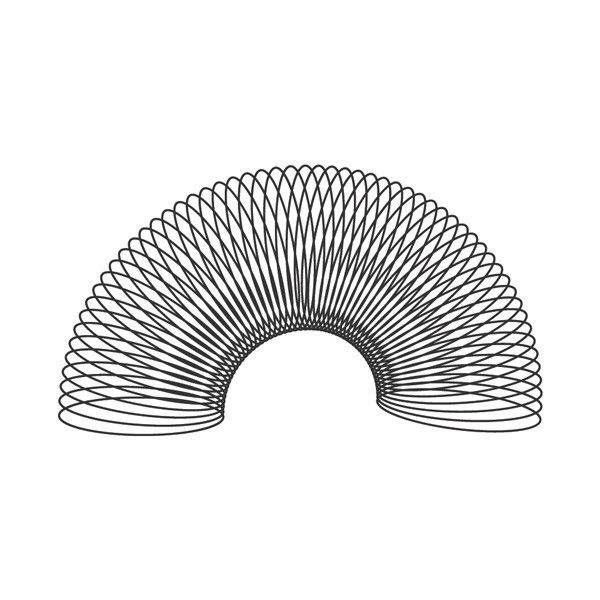 A SLINKY, a SLINKY it's such a wonderful toy, made for a girl and a boy. I can hear that song in my head when I see a slinky.