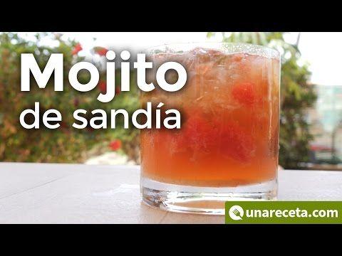 ¿Te animas a un buen mojito de sandía? Aprende a hacerlo con nuestra receta.   #Mojito #MojitoCubano #Cóctel #HacerMojito #RecetaMojito #Cócteles #MojitoDeSandía