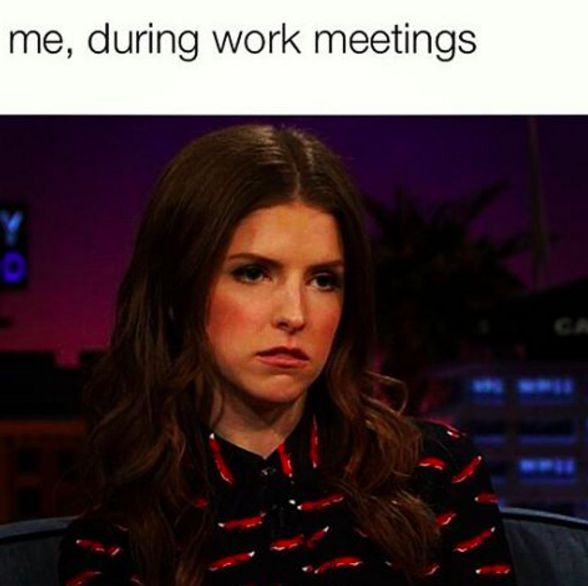 You've also given up completely on trying to look happy during the workday.