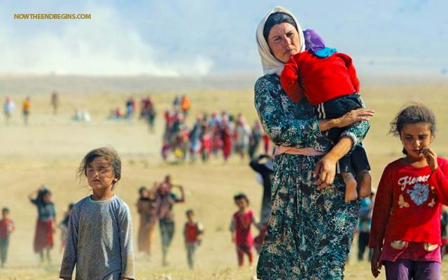 OBAMA REFUSES TO ALLOW YAZIDI REFUGEE CHRISTIANS FLEEING ISIS IN IRAQ NOT ALLOWED TO ENTER U.S. ASYLUM