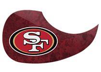 San Francisco 49ers Pickguard
