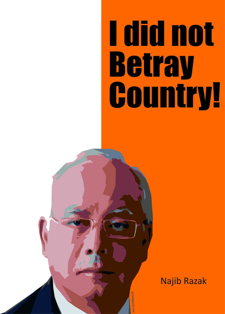 Image result for Corrupt and Lying Najib Razak