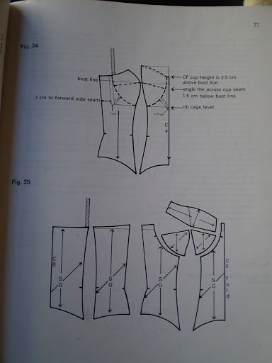 patterncutting for lingerie beachwear and leisurewear - blanca estela cifuentes flores - Picasa Web Albums