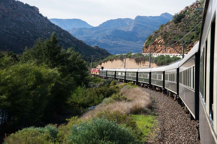 Rovos Rail is arguably the most #luxurious #train, with spacious en suite compartments and gracious hospitality. #Southafrica #Travel #journey #rail