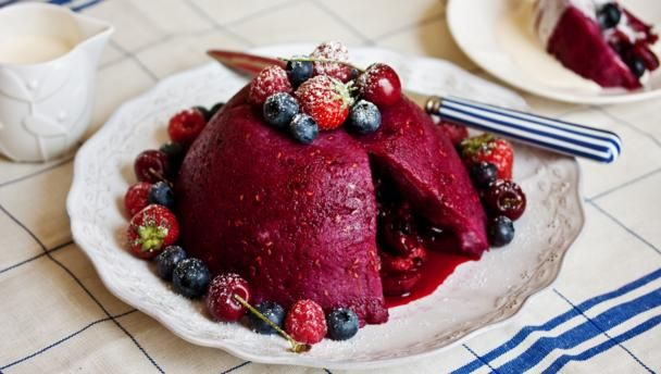 Summer pudding |      Summer pudding is much easier to make than you think. Try our step-by-step video recipe for a perfect pudding.Equipment and preparation: You'll need a 1 litre/2 pint pudding basin.