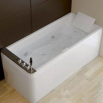 Les 25 meilleures id es de la cat gorie baignoire balneo for Baignoire sur pied 150 cm