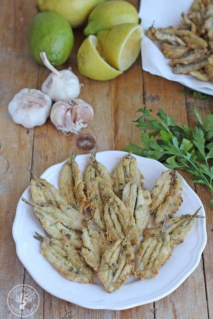 Cocinando entre Olivos: Cómo hacer Boquerones al limón. Receta paso a paso.