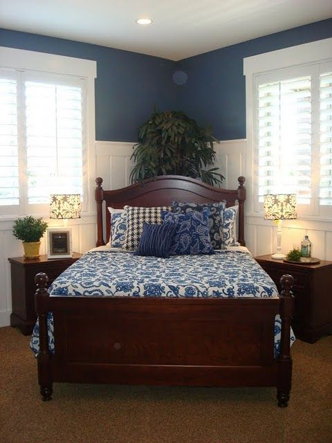 I Like The Plantation Shutters The Bed At An Angle And