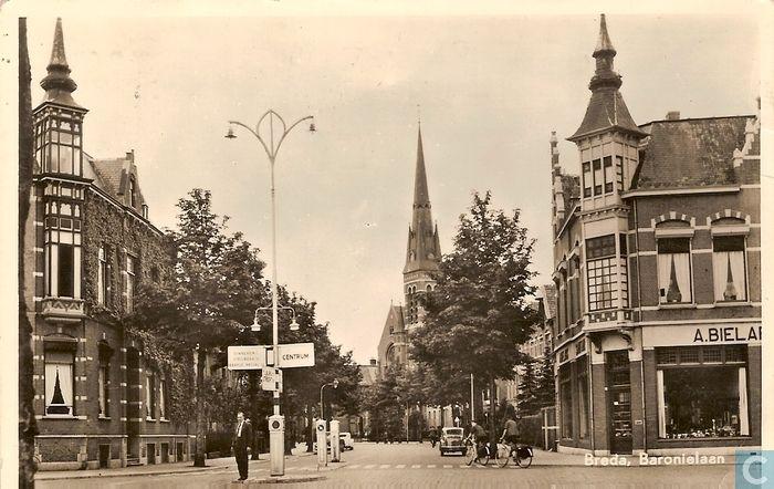 Breda - Baronielaan - 1957.