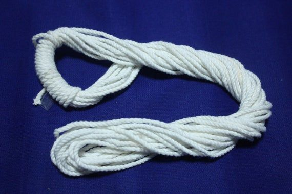 10 Yard Candle Wicks Thick 3 Mm ,Cotton Wicks Cotton Core for Candle Making Supplies From Natural Not Mix Chemicals
