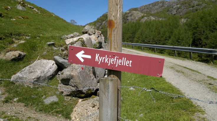 Kyrkjefjellet Gjesdal/ Bjerkreim